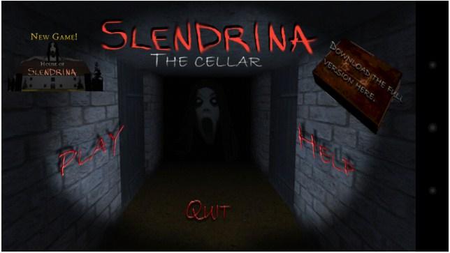 Slendrina The Cellar