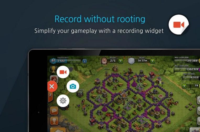 Cara merekam permainan COC di Android agar menjadi video
