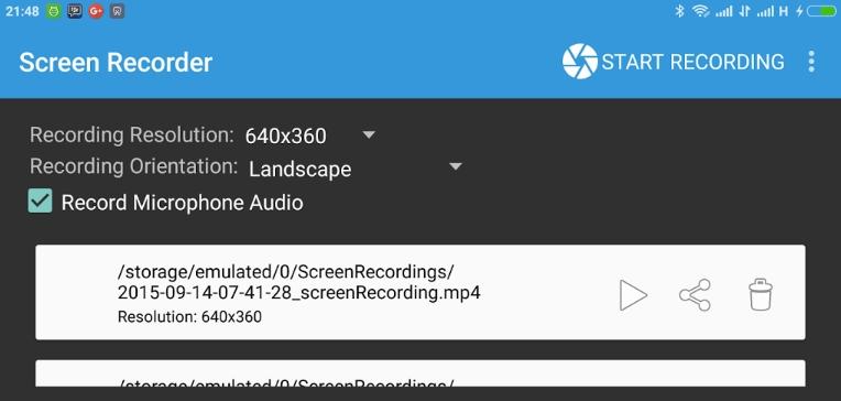 Aplikasi Android yang Diprlukan untuk Merekam Layar Android Jadi Video