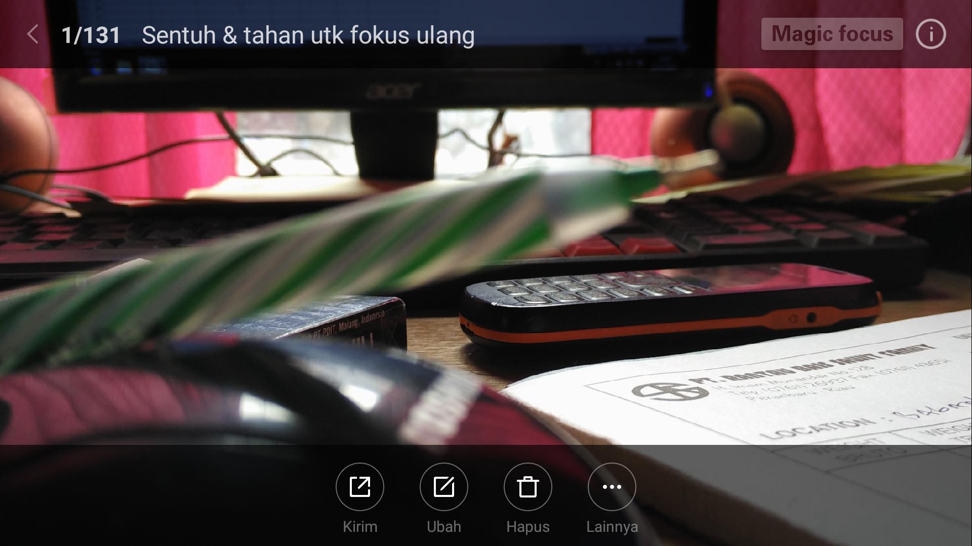 Cara Menggunakan Mode Fokus Ulang Pada Xiaomi