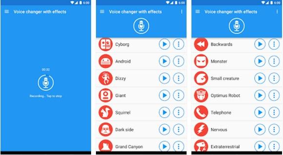 aplikasi mengubah suara