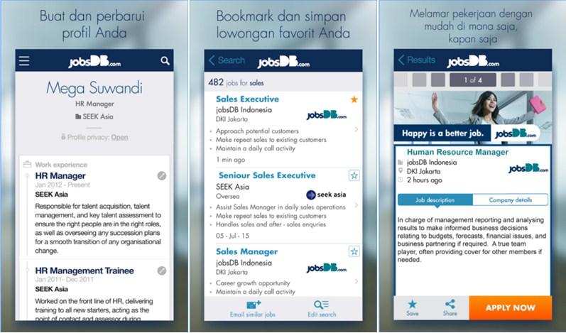 aplikasi pencari kerja untuk android