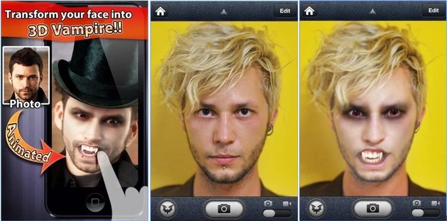2 Aplikasi Edit Foto Menjadi Zombie dan Vampir