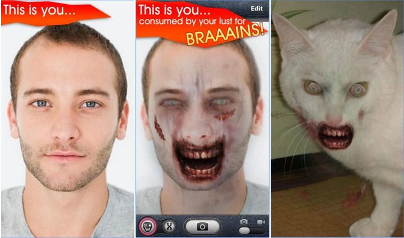 cara edit foto menjadi zombie