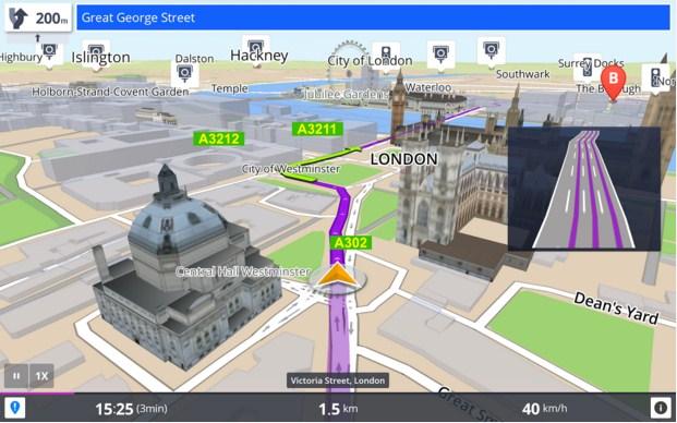 Aplikasi GPS Penunjuk Jalan