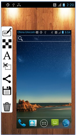cara menambah teks pada foto screenshot