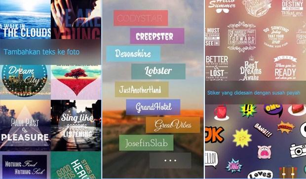 Cara Menambah Tulisan Pada Foto di Android