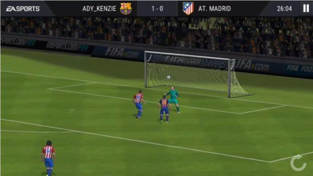 Cara Membuat Gol Cungkil di FIFA MOBILE