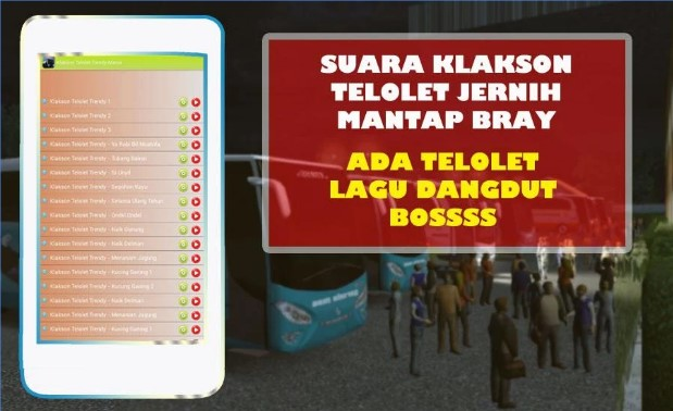 Aplikasi Klakson Bus Telolet Terbaik Android