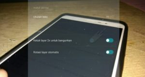 Cara Mengaktifkan Ketuk Layar 2x Pada Xiaomi
