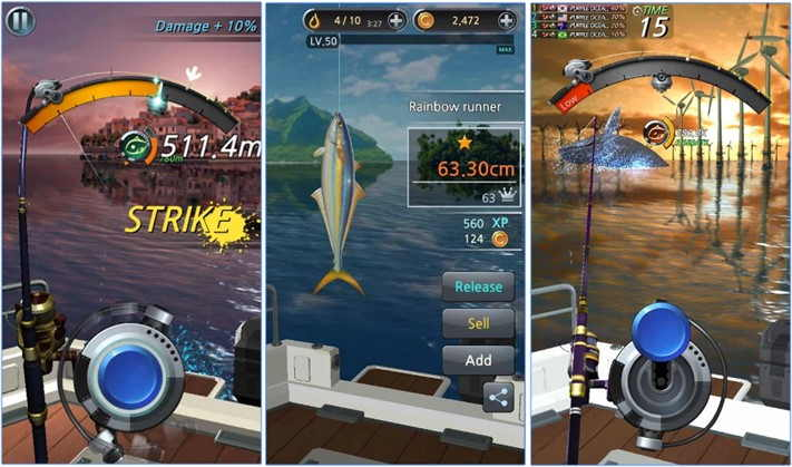 Download Game Fishing Hook / Kail Pancing untuk Android