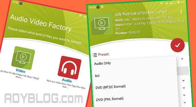 Cara Mudah Mengubah Format Video di Android