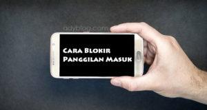 Cara blokir Panggilan Masuk dan Pesan di Xiaomi