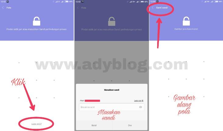 Cara Mengganti Password Hidden Album di Xiaomi MIUI 8