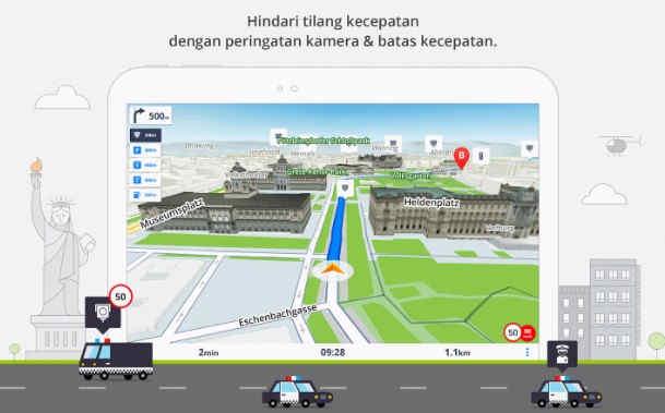 Aplikasi Penunjuk Jalan Dengan Suara Dan Bisa Digunakan Offline
