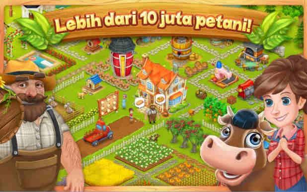 Game Berkebun dan Beternak di Android Terbaik