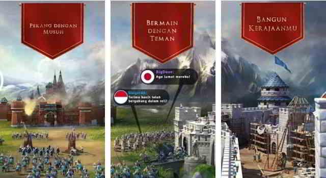 Kumpulan Game Perang Kerajaan Android