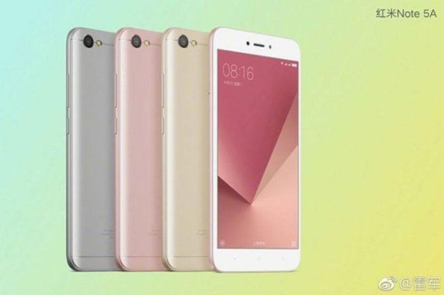 Xiaomi Resmi Meluncurkan Redmi Note 5A dengan Fitur Flash Selfie