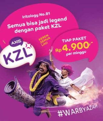 daftar paket kzl axis
