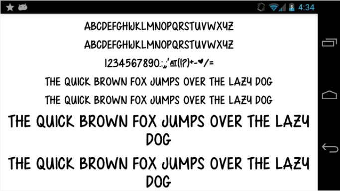 aplikasi font terbaik
