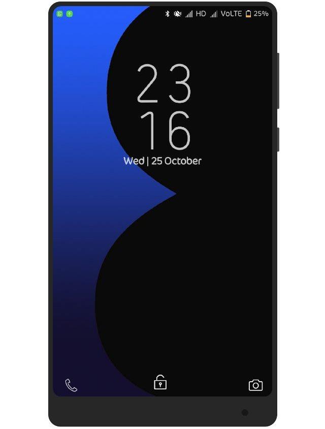 Download Tema Samsung Galaxy S8 Max untuk Xiaomi MIUI 8/9