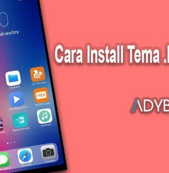 Cara Install Tema .mtz di Xiaomi