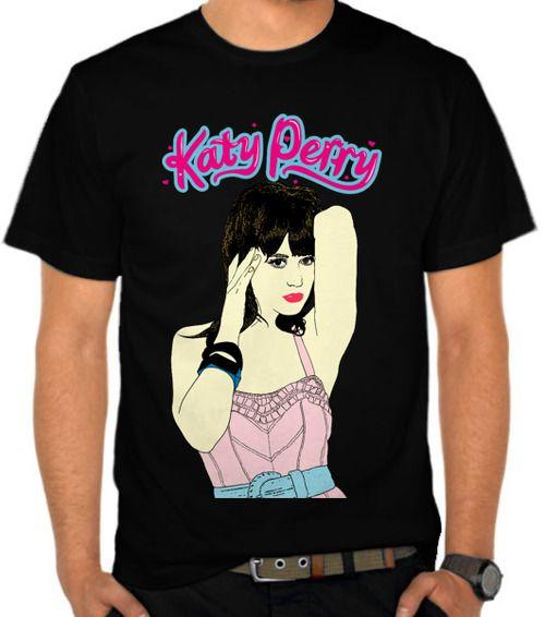 Kaos gambar Katy Perry