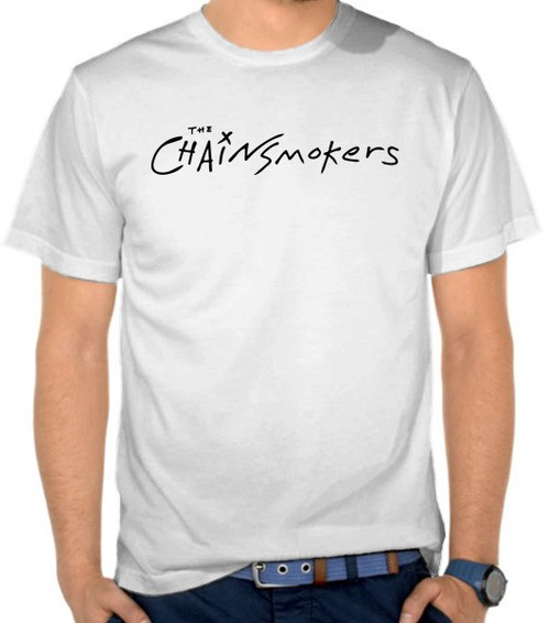 kaos musik chainsmokers murah