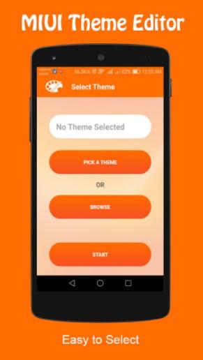 Cara memasang tema menggunakan aplikasi MIUI Theme Editor