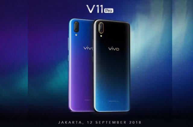 Spesifikasi dan Harga Vivo V11 Pro