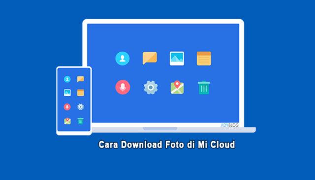 Cara Download Foto di Mi Cloud