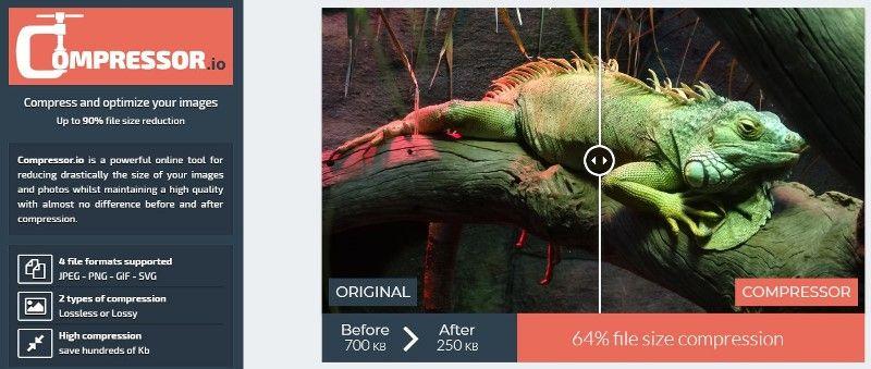 Aplikasi Kompress Foto Online