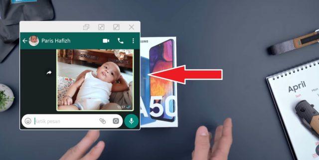 Cara Mengaktifkan Notifikasi Popup (Multi Windows) di Galaxy A Series 2019