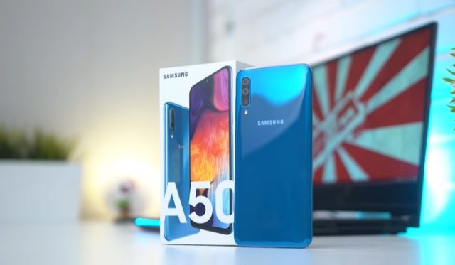 Cara Menghilangkan Persentase Baterai di Samsung Galaxy A Series 2019
