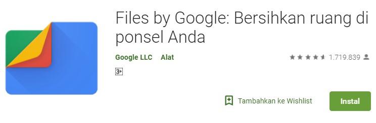Download Aplikasi Google File