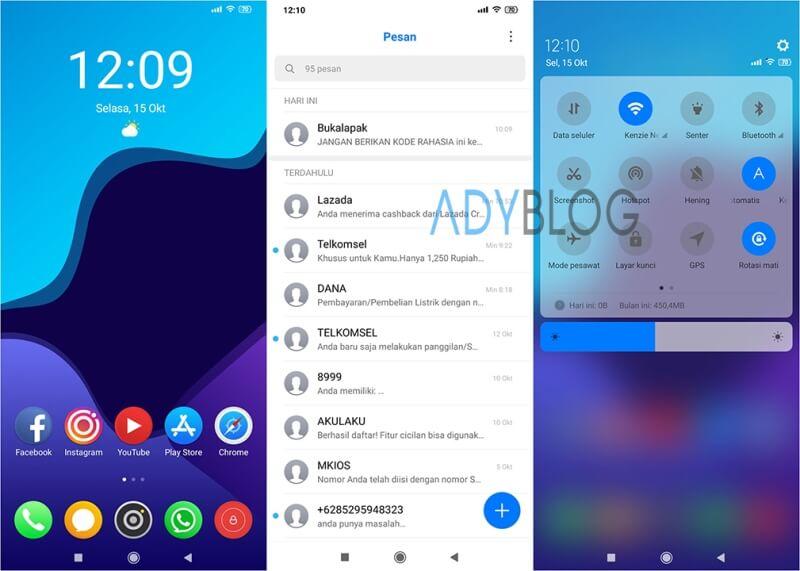 Download Tema Xiaomi iOS 13 Pro MIUI 10
