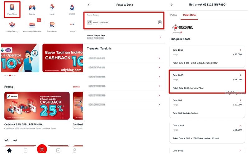 Beli Kuota Telkomsel 10 GB Cuma Rp 45 Ribu