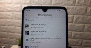 Cara Menyembunyikan File di Redmi Note 7 Melalui File Manager