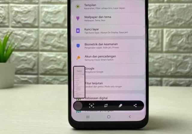 Cara Screenshot Panjang di Samsung Galaxy A Series